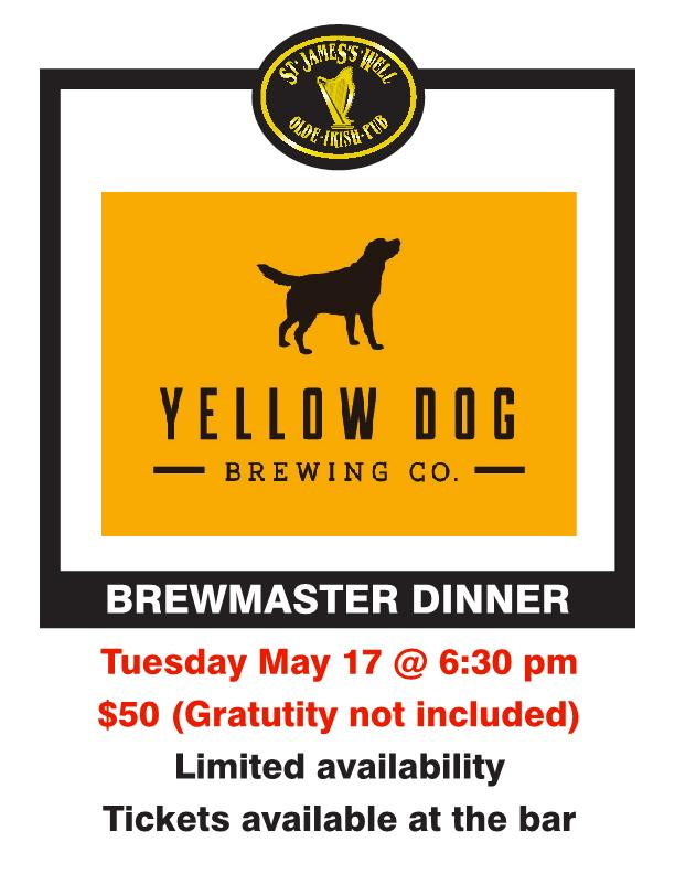Brewmaster dinner poster